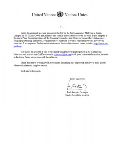 United Nations Letter of Recommendation - Part 2
